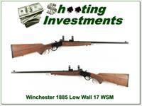 Winchester 1885 Low Wall 17 WSM