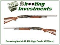 Browning Model 42 High Grade 5 410 Gauge as new