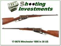 Winchester 1895 made in 1913 in 30 US 30-40 Kraig