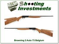 Browning 22 Auto 73 Belgium Blond collector!