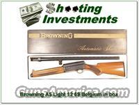 Browning A5 Light 12 69 Belgium with box