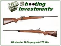 Winchester Model 70 Supergrade 270 Win Exc Cond!