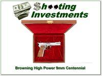 Browning High Power 9mm Centennial New in case