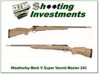 Weatherby Mark V Super Varmintmaster in 243 Win
