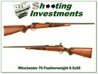 Winchester Model 70 Featherweight in 6.5x55