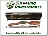 Browning A5 Light 12 Invector ANIB