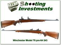 Winchester Model 70 1954 pre-64 Featherweight 243 Win