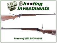 Browning 1885 40-65 BPCR 30in, case colored Exc Cond!