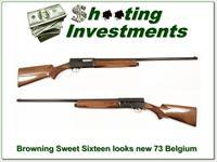 Browning A5 Sweet Sixteen 73 Belgium looks like new!