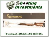 Browning A-bolt II Medallion 22-250 Win last ones!