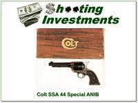 Colt SAA 44 Special unfired in box!