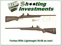 Forbes 24B Rifle the real Ultra-light weight 30-06!