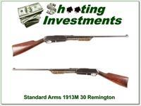 Standard Arms 1913M 30 Remington with 2 boxes ammo