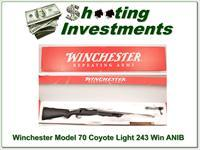 Winchester 70 Coyote Light Lite Stainless Fluted 243 Win ANIB