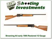 Browning VERY REALY 105 A5 16 Gauge restored