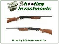 Browning BPS small frame Youth model 20 Gauge!