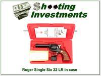 Ruger Single Six 50th year 22LR & 22 Mag NIC!