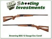 Browning BSS 12 Gauge 26in Mod and F Exc Cond!
