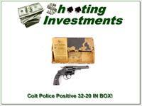 Colt Police Positive 1923 made 32-20 in original BOX!