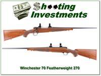 Winchester 70 XTR Featherweight 270 New Haven!