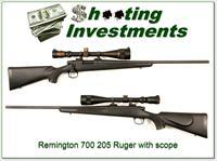Remington Model 700 204 Ruger with scope