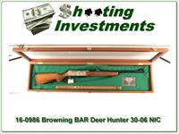 Browning BAR Deer Hunter 30-06 commemorative in display case!
