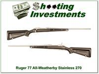 Ruger Mark II Stainless Skeleton 270 Winchester