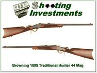 Browning 1885 Traditional Hunter Low Wall 44 Rem Mag!
