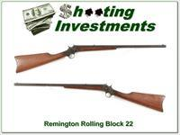 Remington Rolling Block 22 made in 1908!