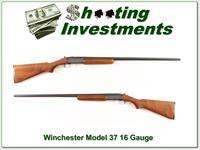 Winchester Model 37 16 Gauge single shot Exc Cond!