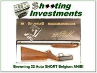 Browning 22 Auto ATD 22 SHORT 72 Belgium in box!