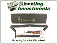 Browning Citori CX 12 Gauge 30in Graco adjustable stock!