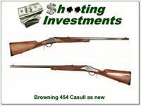 Browning 1885 High Wall 454 Casull as new 28in Octagonal