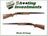 BC Miroku 20 Ga shotgun hand engraved like Superposed nice!