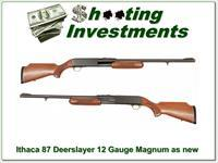 Ithaca model 87 12 Gauge Magnum Deerslayer Exc Cond!