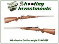 Winchester Model 70 Featherweight New Haven 25 WSSM!