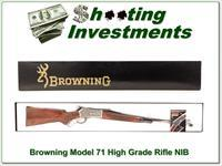 Browning Model 71 348 Win 24in rifle HIGH GRADE NIB!