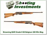 Browning BAR Grade II 68 Belgium 300 Win Mag!