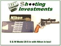 Smith & Wesson Model 29-4 44 Magnum with Nikon scope ANIC