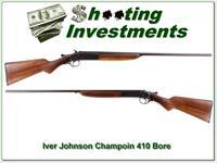 Iver Johnson Champion 410 Gauge Single Shot