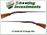 LC Smith 2E 12 Ga 32in Full & Full made in 1904!