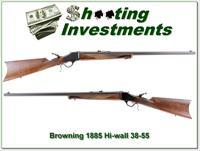 Browning 1885 rare .38-55 Win near new XX Wood 28in!