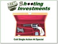 Colt Frontier Six Shooter Single Action 44-40 & 44 Special