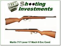Marlin Model 717 17 Mach II near new!