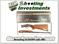 Browning 22 Auto NIB 22 SHORT made in 1982!