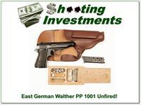 East German Walther PP 1001 7.65 unfired and rare in this condition!