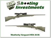 Weatherby Vanguard Ducks Unlimited 2011 30-06
