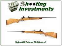 Sako AIII Deluxe 30-06 Blond Wood!