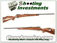 Weatherby Mark V Deluxe 340 Wthy mag