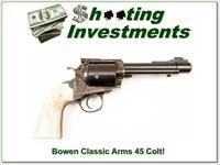 Bowen Classic Arms 45 Colt unfired custom grips